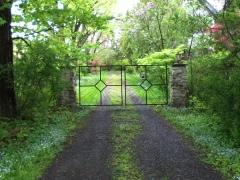 a gate in Trumansburg