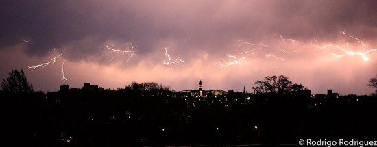 Cornell lightning on May 3 2012 by R. Rodriquez