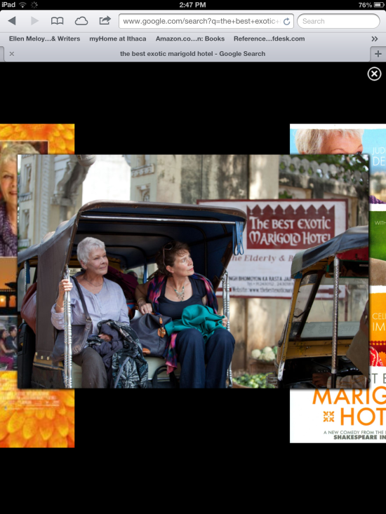 The Best Exotic Marigold Hotel..iPad