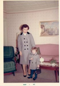 Matching Easter Coats photograph 1965