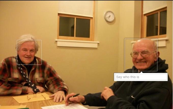 Bill is on the left, circa Feb. 2013