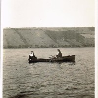 Nuns on Keuka Lake, 1930 Blimp, & OLD AGE is HELL poem...artificats