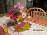 a late fall bouquet